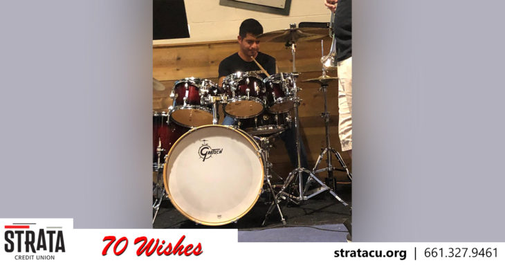 Wish 21 Anthony Drum set