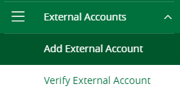 external accounts